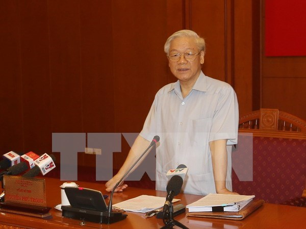 La 8e session du Comite central de pilotage de la lutte contre la corruption hinh anh 1