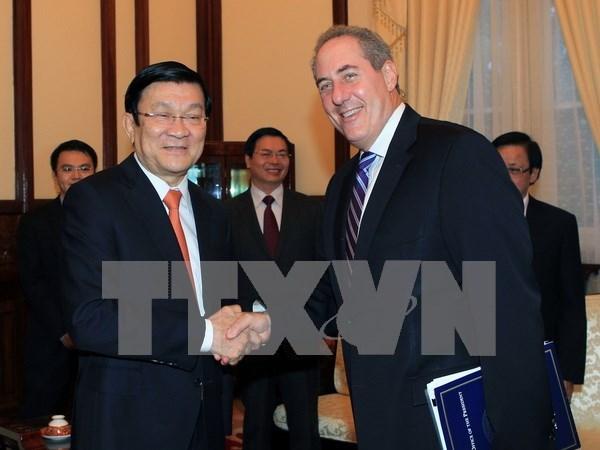Le president Truong Tan Sang quitte New York pour Cuba hinh anh 1