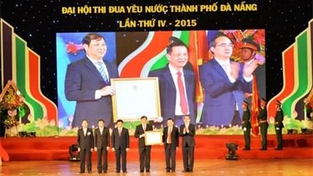 Le chef du CC du FPV au 4e congres d'emulation patriotique de Da Nang hinh anh 1