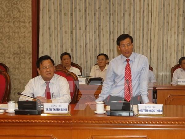Nomination de trois nouveaux vice-ministres hinh anh 1