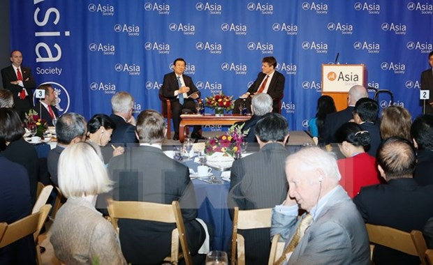Le president Truong Tan Sang parle des relations vietnamo-americaines hinh anh 1