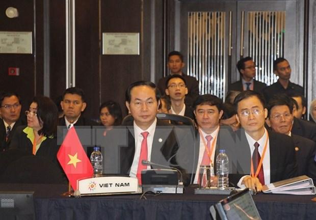 ASEAN: Le Vietnam appelle a renforcer la cooperation contre la criminalite transnationale hinh anh 1