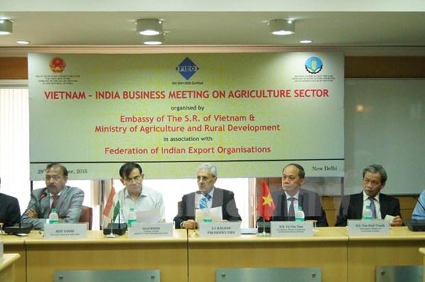 Promotion au commerce des produits agricoles Vietnam-Inde hinh anh 1