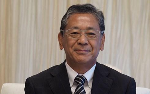 Un responsable vietnamien rencontre l'ambassadeur japonais hinh anh 1