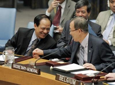 L'ASEAN et l'ONU renforcent leur partenariat global hinh anh 1