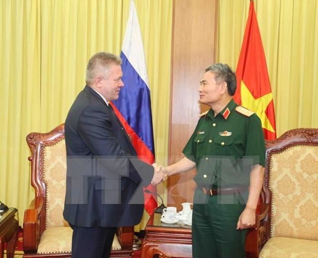 Promotion de la cooperation Vietnam-Russie dans la defense hinh anh 1