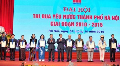 Hanoi organise son congres d'emulation patriotique 2010-2015 hinh anh 1