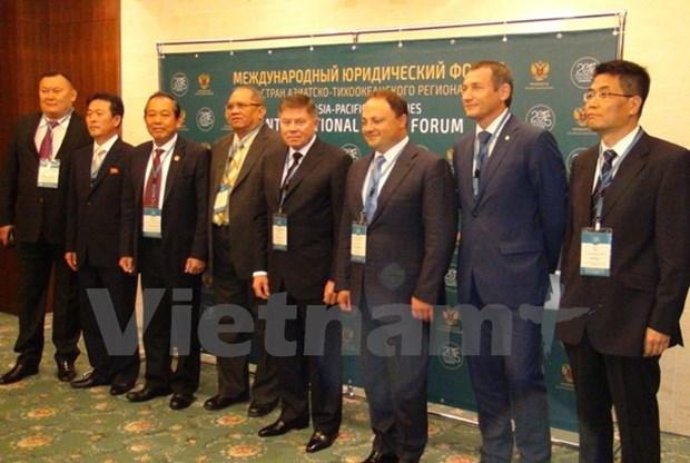 Le Vietnam au 8eme forum judiciaire international d'Asie-Pacifique hinh anh 1