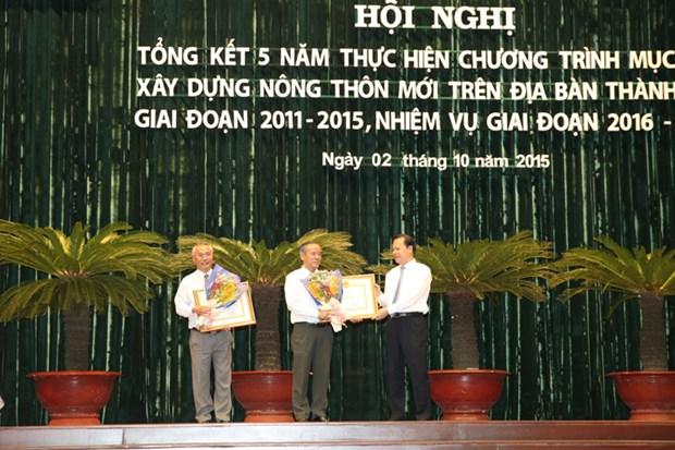 Ho Chi Minh-Ville : 5 ans d'edification de la Nouvelle ruralite hinh anh 1