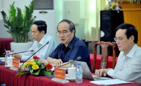 Le FPV donne ses avis sur le projet de Document du 12e Congres national du PCV hinh anh 1