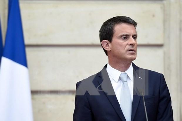 Le PM francais insiste sur le respect du droit international en mer Orientale hinh anh 1