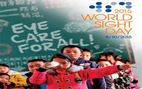 La Journee mondiale de la vue celebree au Vietnam hinh anh 1