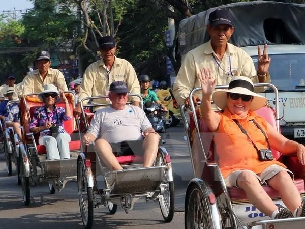 Regain du nombre de touristes etrangers depuis juillet hinh anh 1