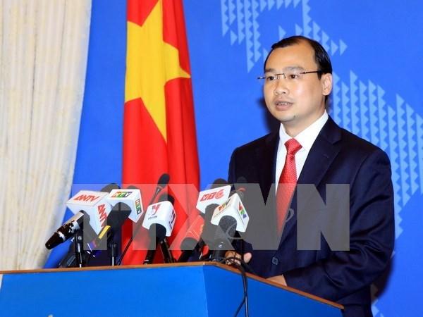 Construction de deux phares a Truong Sa : la Chine viole gravement la souverainete du Vietnam hinh anh 1