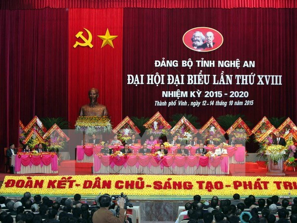 Des dirigeants vietnamiens a des congres provinciaux du PCV hinh anh 1
