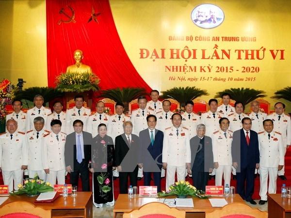 Ouverture du VIe Congres de l'organisation du Parti de la Police hinh anh 1