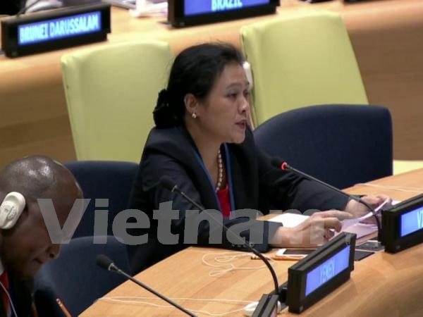 Le Vietnam soutient une application de la loi conforme aux principes de la Charte de l'ONU hinh anh 1