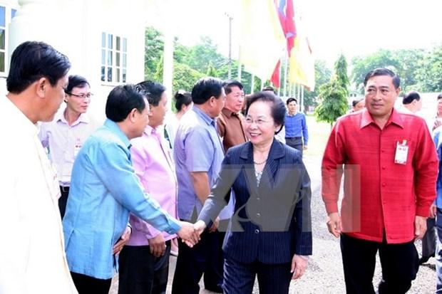 Cooperation efficace entre Vientiane et les localites vietnamiennes hinh anh 1