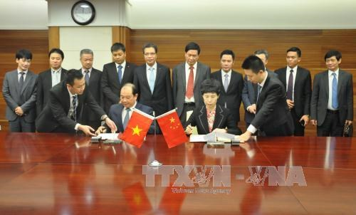 Reunion du Comite de cooperation economique Vietnam-Chine hinh anh 1