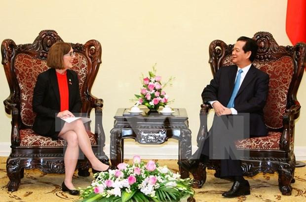 Le Vietnam est optimiste sur ses relations avec les Etats-Unis hinh anh 1