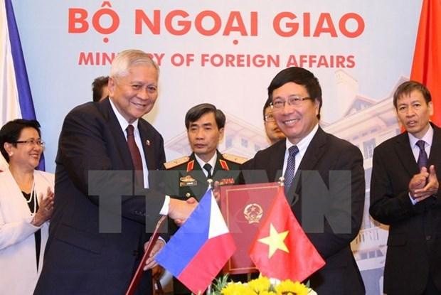 Reunion du Comite de cooperation Vietnam-Philippines hinh anh 1