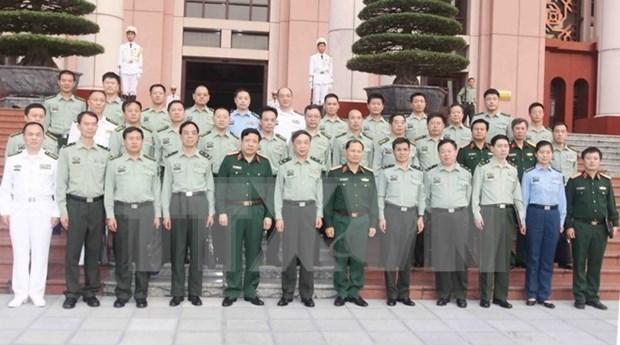 Le ministre de la Defense recoit une delegation militaire chinoise hinh anh 1