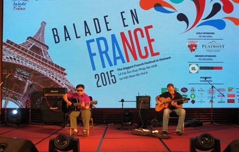 La «Balade en France 2015» a Ho Chi Minh-Ville hinh anh 2