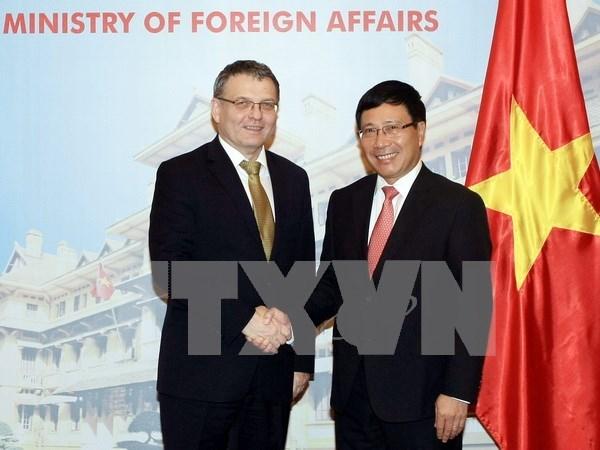 Le Vietnam et la Republique tcheque veulent des liens accrus hinh anh 2