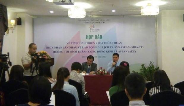 Le tourisme vietnamien se prepare pour l'entree en vigueur de la CEA hinh anh 1