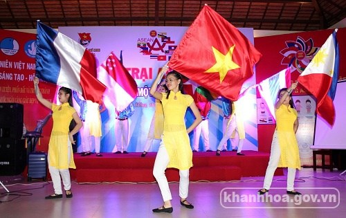 Le Camp ASEAN+1 a Khanh Hoa hinh anh 1