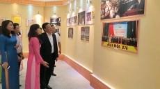 Expo photo «Marchons en avant sous le drapeau du Parti» hinh anh 1