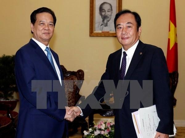 Le PM recoit le gouverneur de la prefecture japonaise de Saitama hinh anh 1
