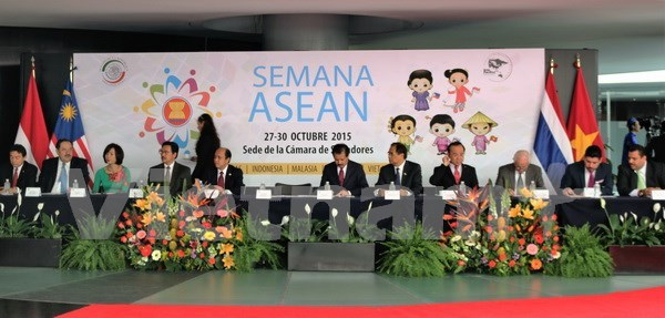 Semaine culturelle de l'ASEAN au Senat mexicain hinh anh 1