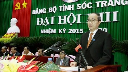 Les congres des organisations du PCV pour Soc Trang, Bac Lieu et Lang Son hinh anh 1