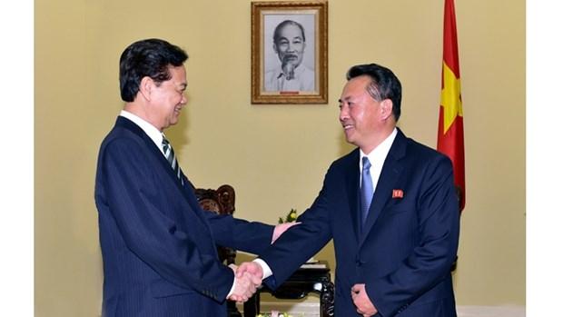 Le Vietnam et la RPD de Coree scellent une cooperation tous azimuts hinh anh 1