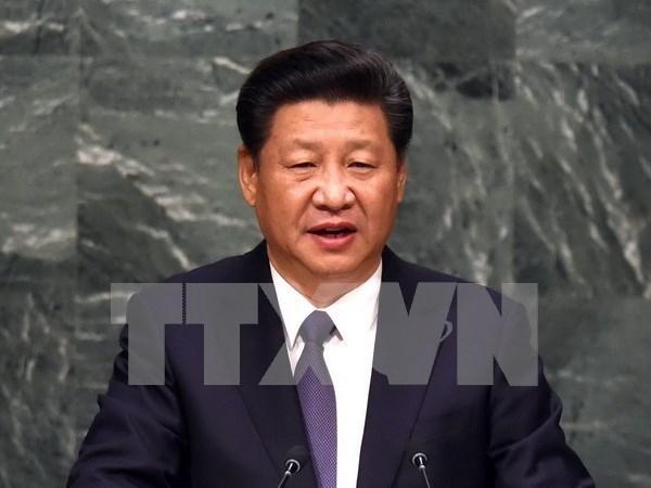 Le president chinois effectuera une visite d'Etat au Vietnam hinh anh 1