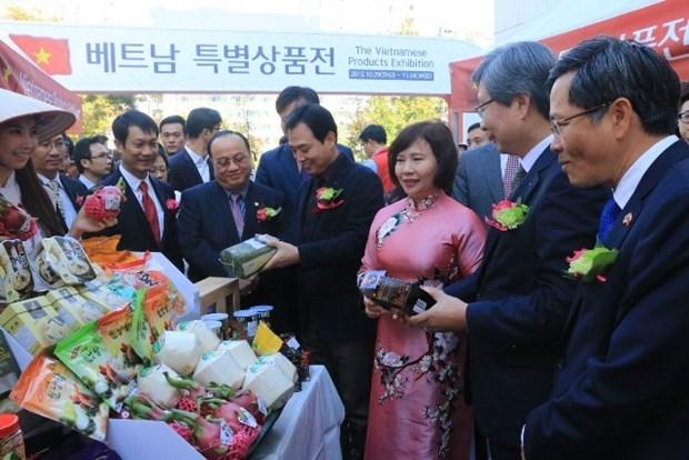 Exposition de produits vietnamiens en Republique de Coree hinh anh 1