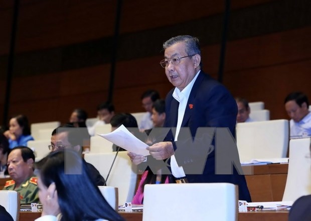 L'Assemblee nationale discute du developpement socio-economique hinh anh 1
