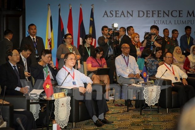 Le Vietnam partage des questions de securite a l'ADMM Retreat hinh anh 1