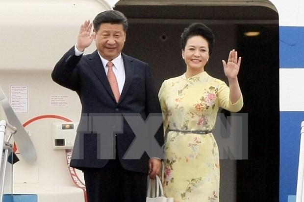 Ceremonie d'accueil officielle du president chinois Xi Jinping a Hanoi hinh anh 1
