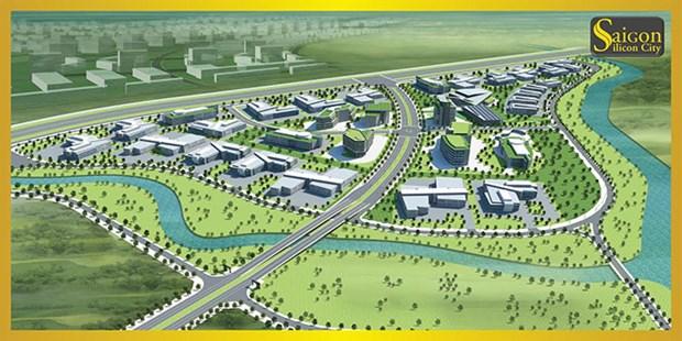 Mise en chantier du projet Saigon Silicon City a Ho Chi Minh-Ville hinh anh 1