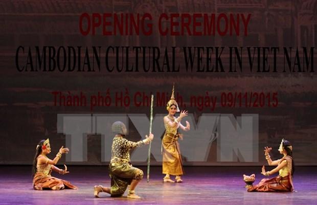 Ouverture de la Semaine de la Culture cambodgienne au Vietnam 2015 hinh anh 1