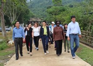 Reduction de la pauvrete : des experts de la BM a Hoa Binh hinh anh 1