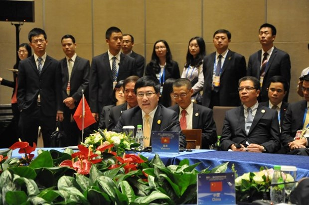 Pham Binh Minh participe a une conference Mekong-Lancang en Chine hinh anh 1