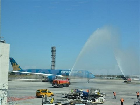 Vietnam Airlines maintient ses vols vers la France hinh anh 1