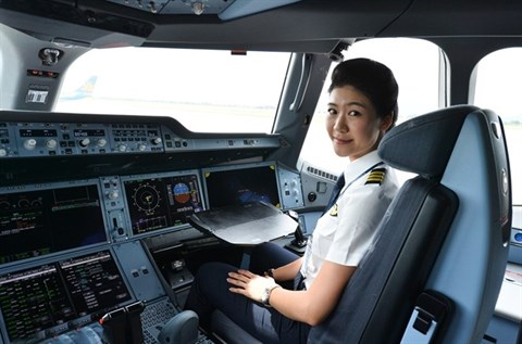 Elle est la plus jeune femme commandant de bord du Vietnam hinh anh 3