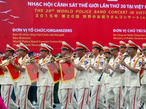 Ouverture du 20e Gala international de la musique de la police hinh anh 1