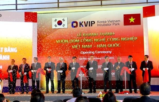 Inauguration de la pepiniere des technologies Vietnam-R. de Coree a Can Tho hinh anh 1