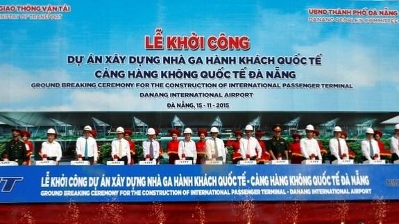 Mise en chantier de l'aerogare internationale de Da Nang hinh anh 1