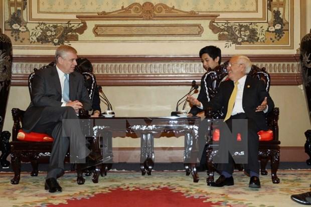 Renforcement de la cooperation entre le Royaume-Uni et Ho Chi Minh-Ville hinh anh 1
